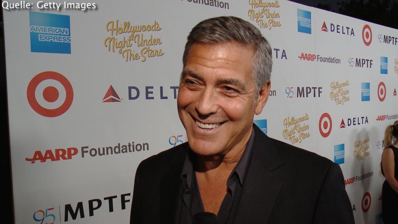 Bild zu George Clooney ist geschockt vom Windelinhalt
