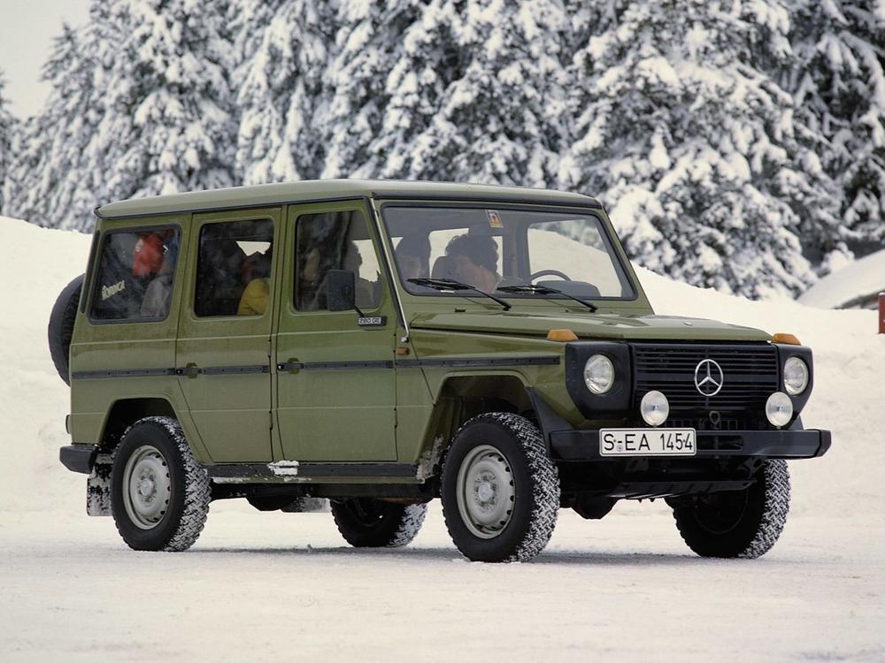 Bild zu Platz 5: Mercedes-Benz G 250