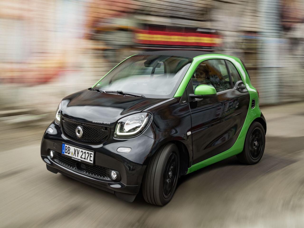 Bild zu Smart Fortwo Electric Drive