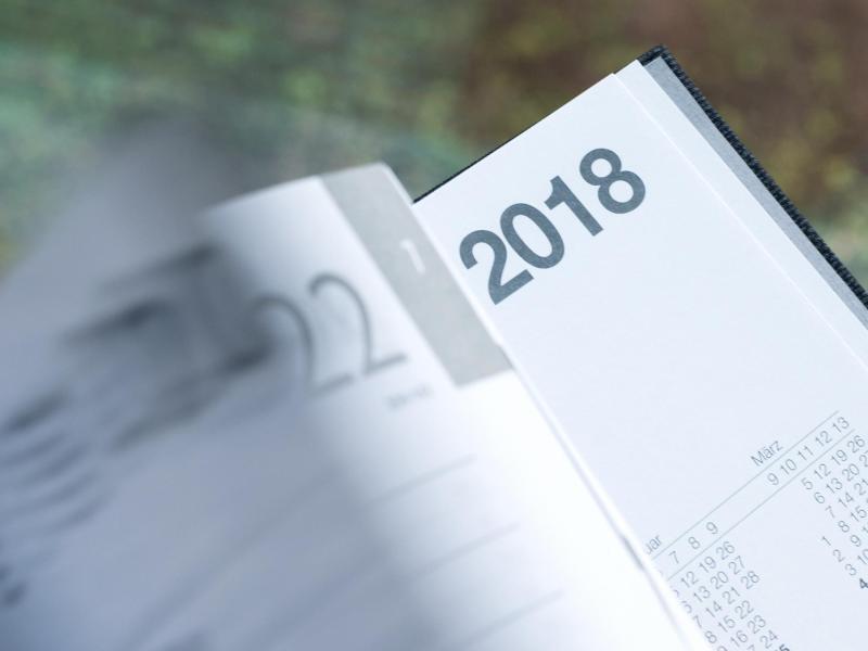 Bild zu Kalender 2018