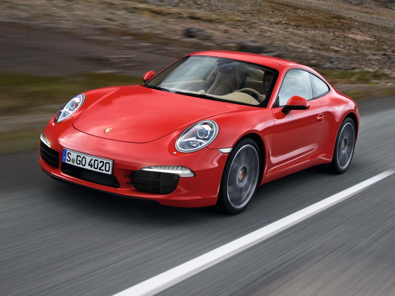 Bild zu Porsche 911 Carrera