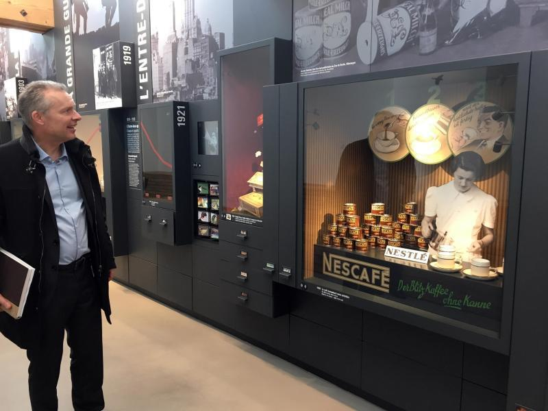 Bild zu Nestlé-Museum