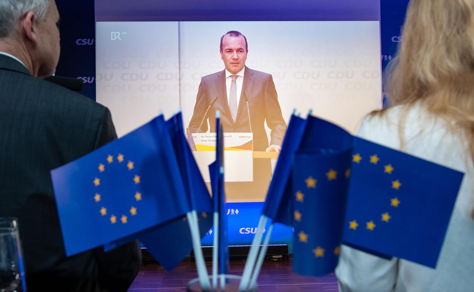 Bild zu European elections - CSU