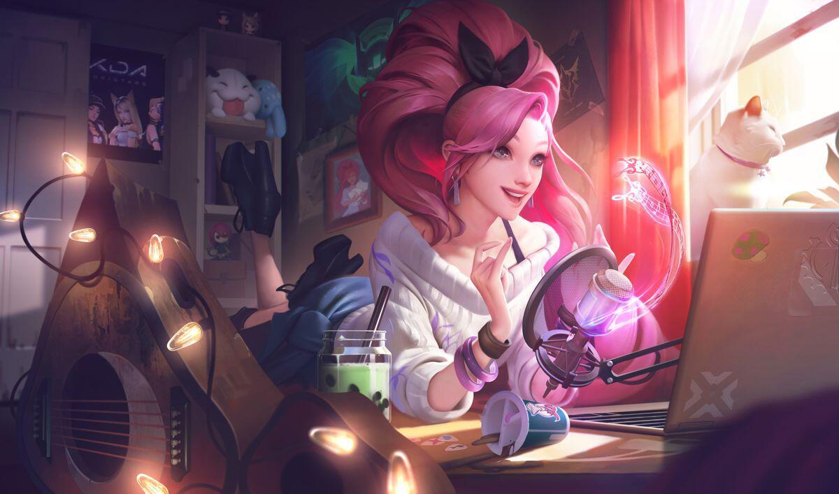 Bild zu Lol, Seraphine, League of Legends, eSports, Champion, Musik, Riot Games