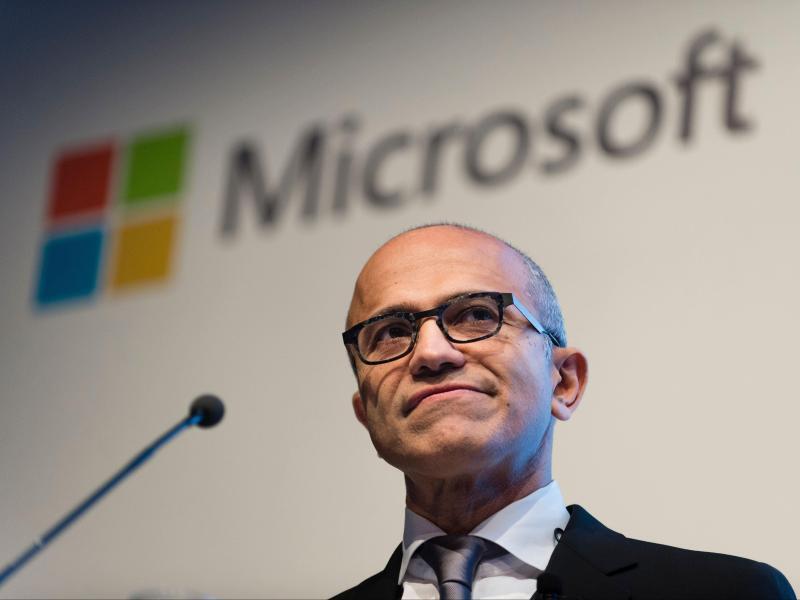 Bild zu Microsoft-Chef Satya Nadella