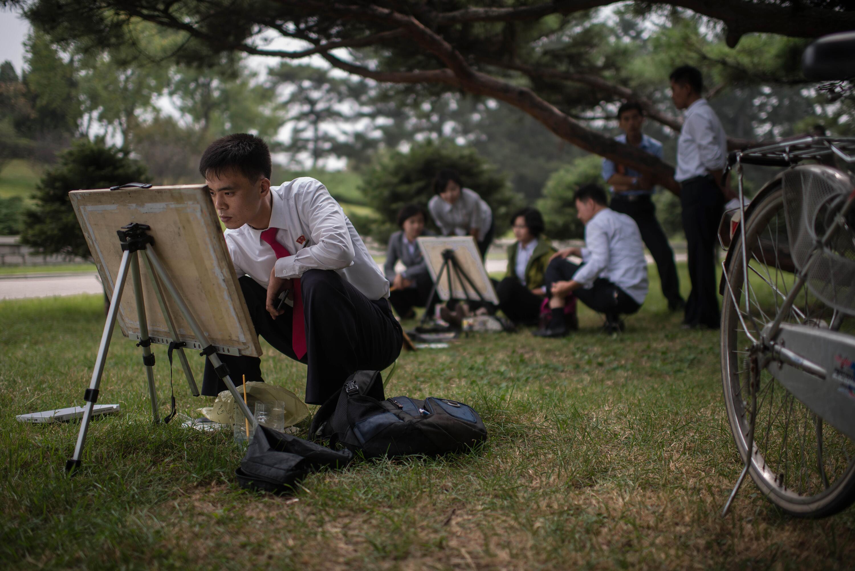 Bild zu AFP, Ed Jones, Nordkorea