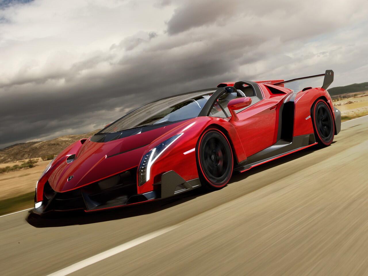 Bild zu Lamborghini Veneno Roadster