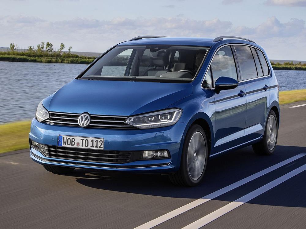 Bild zu Platz 10: VW Touran