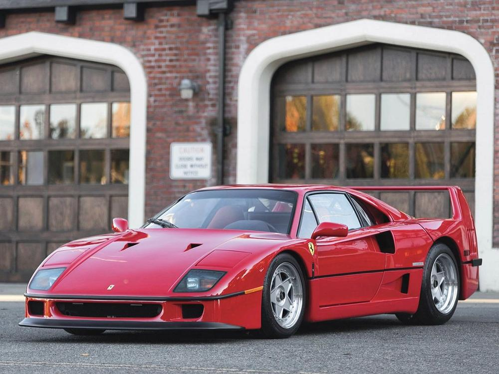 Bild zu 1990 Ferrari F40