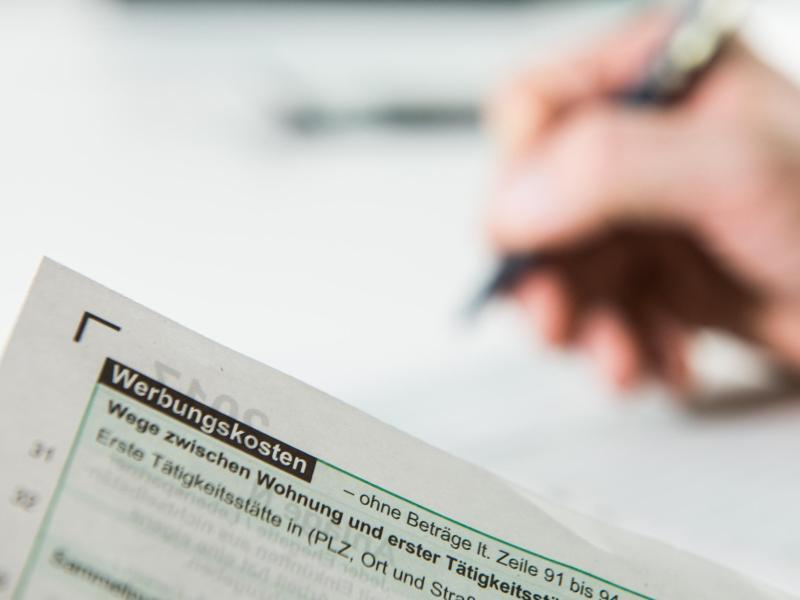 Bild zu Steuererstattung für Arbeitnehmer