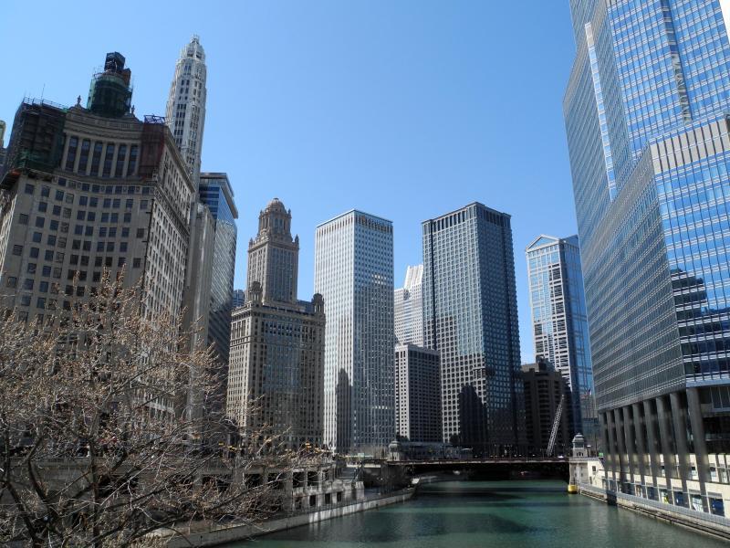 Bild zu Skyline von Chicago