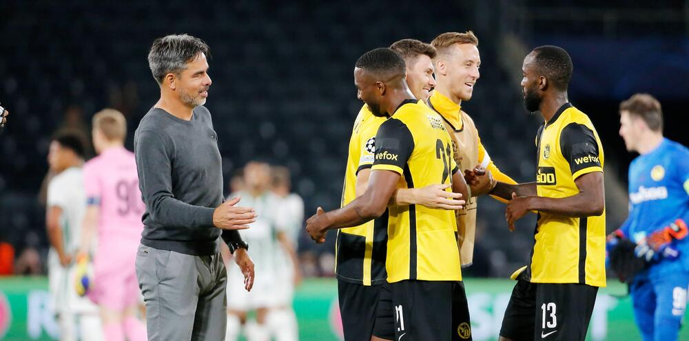 Young Boys Bern, Ferencvaros Budapest, Champions League, Playoff, Hinspiel, David Wagner, 2021/22