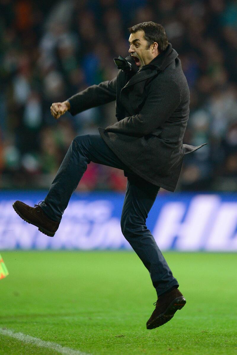 Bild zu Werder Bremen gegen Bayer 04 Leverkusen: Jetzt ausflippen!