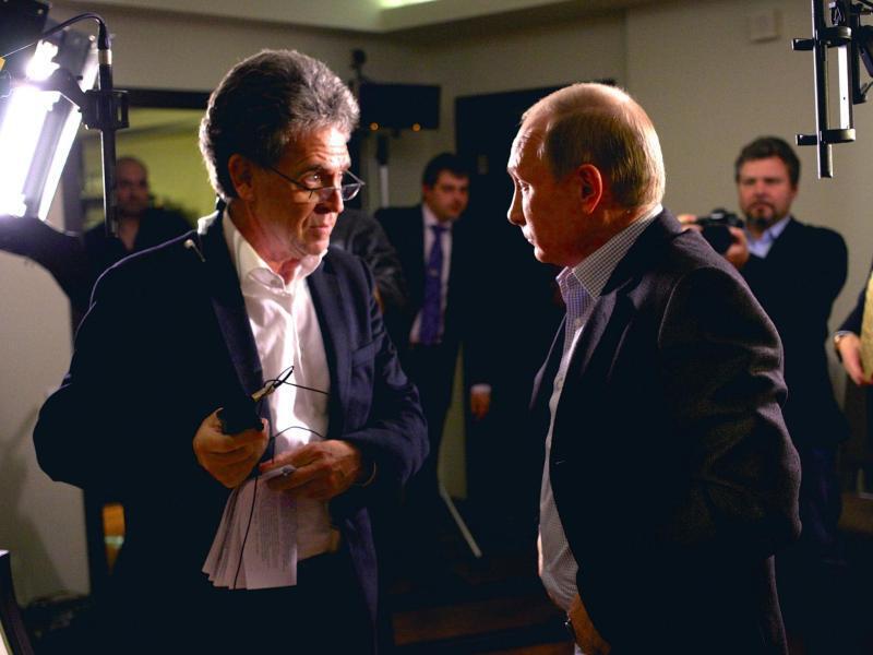 Bild zu Wladimir Putin im ARD-Interview