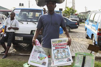 Zeitungsverkäufer