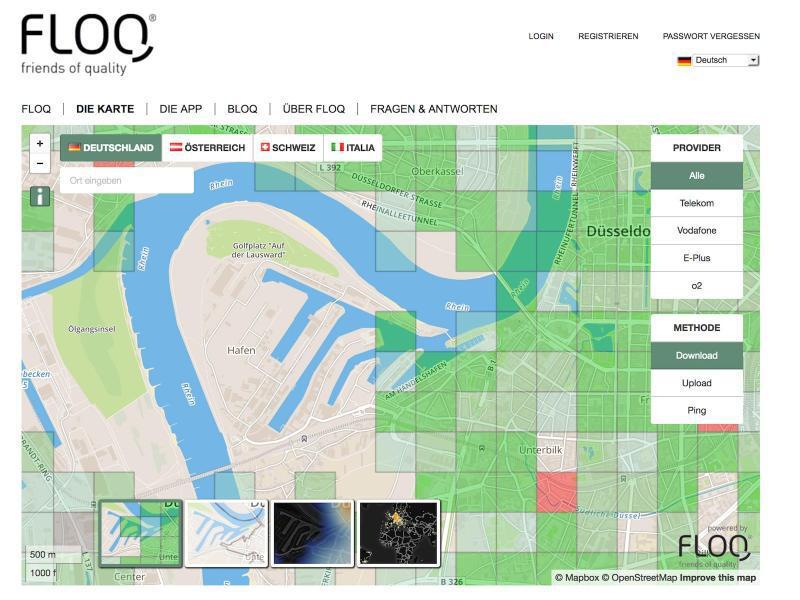 Bild zu Webseite FLOQ
