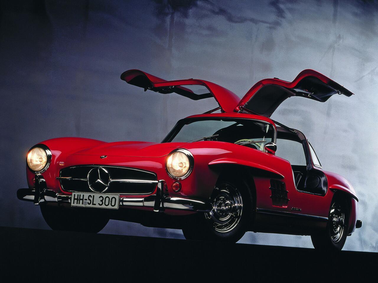 Bild zu Mercedes 300 SL - eine Inspirationen für Coupés und Cabriolets.