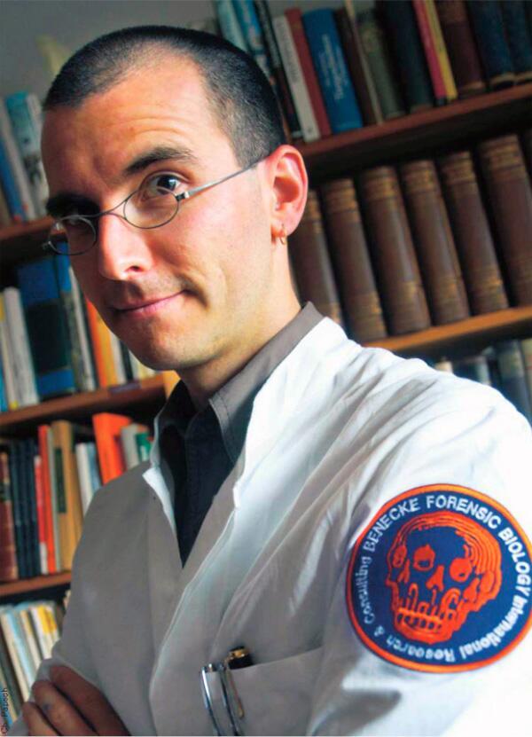 Kriminalbiologe Benecke