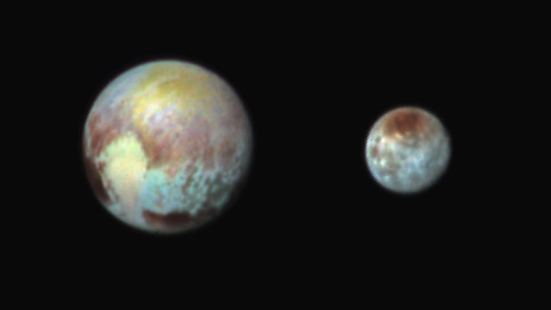 Bild zu Pluto, Charon