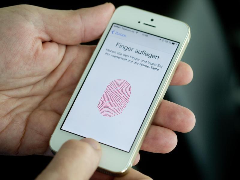 Bild zu Fingerabdruck-Sensor
