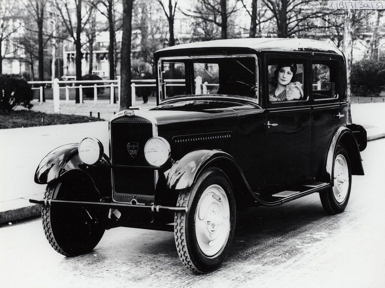 Bild zu Peugeot 201 geht in Massenserie