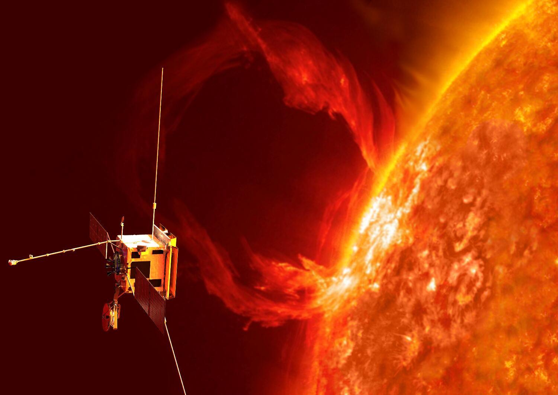 """Bild zu Raumsonde """"Solar Orbiter"""""""