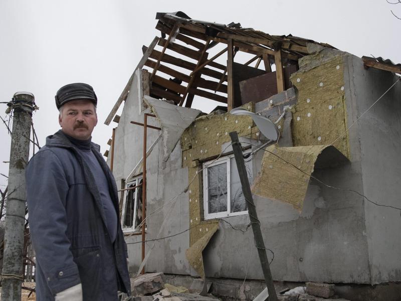 Bild zu Zerstörung in Donezk