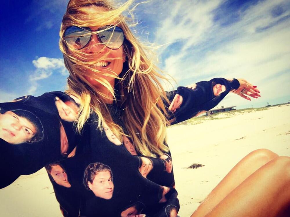 Bild zu Heidi Klum trägt Vito