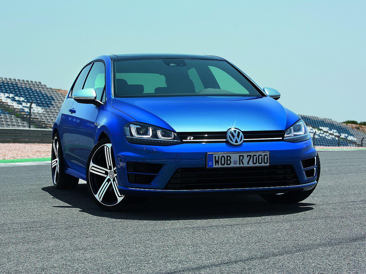 Bild zu 5. Platz: VW Golf 7 R