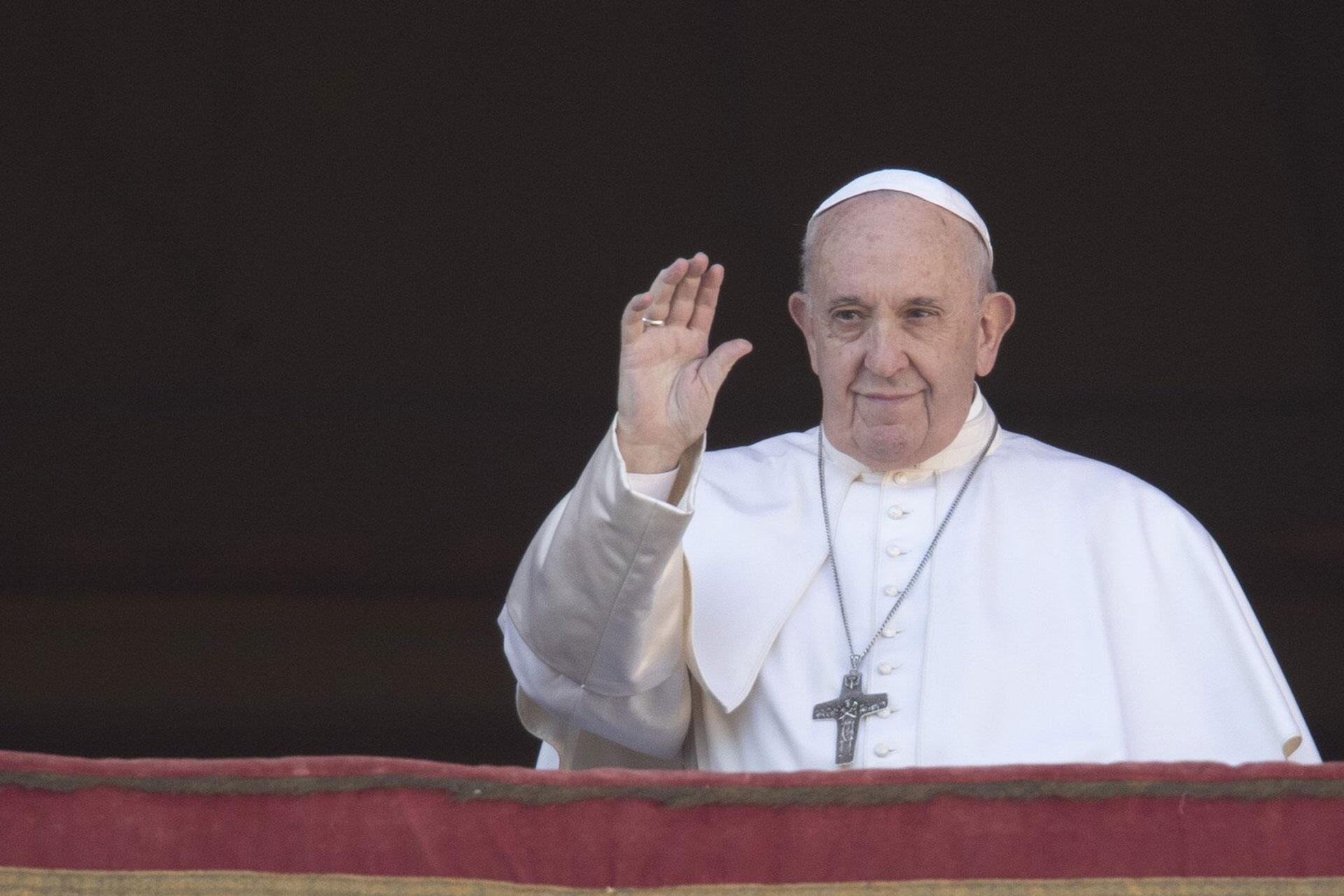 Bild zu Weihnachtsfeierlichkeiten mit Papst Franziskus