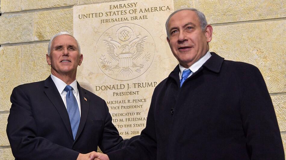 US-Vizepräsident Pence in Jerusalem