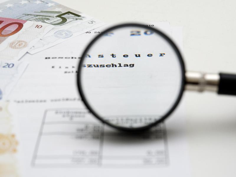 Bild zu Steuerbescheid