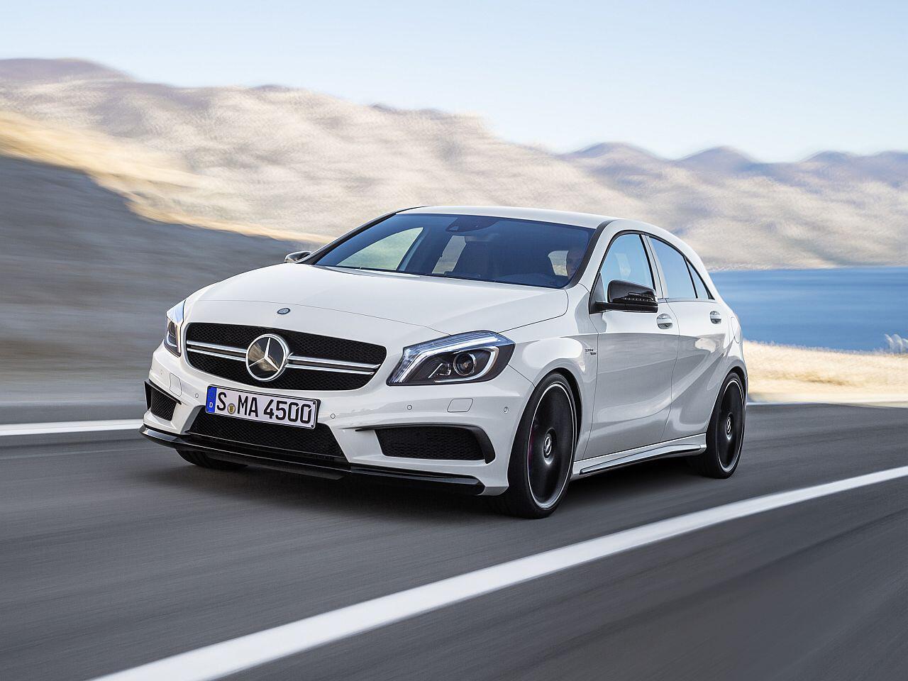 Bild zu Mercedes A 45 AMG