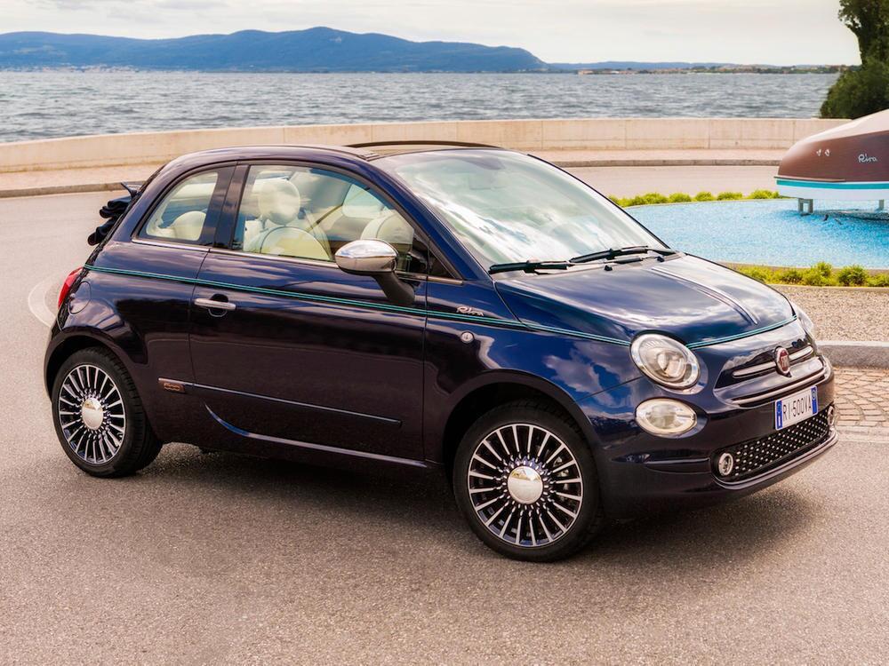 Bild zu Platz 2 Minis: Fiat 500