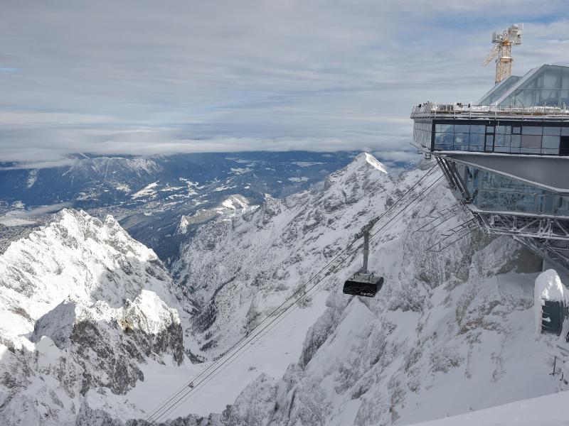 Bild zu Seilbahn zur Zugspitze