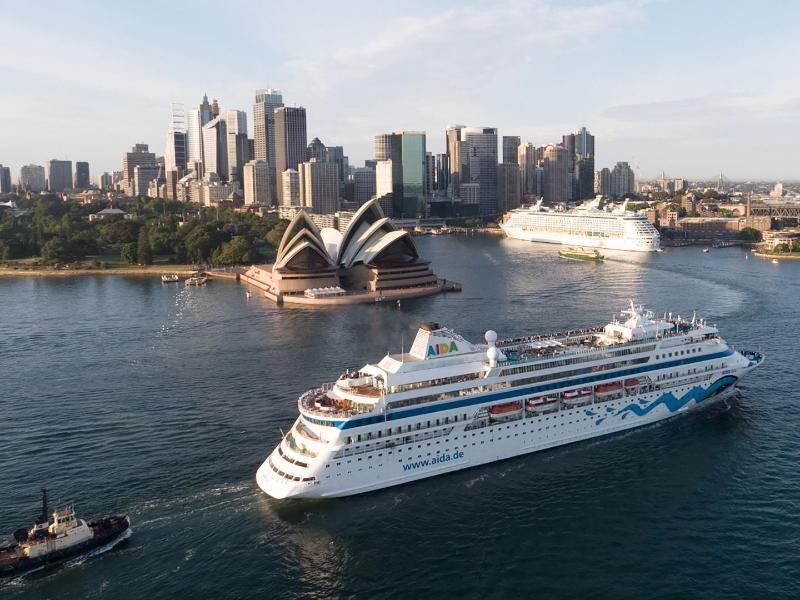 Die Aida in Australien