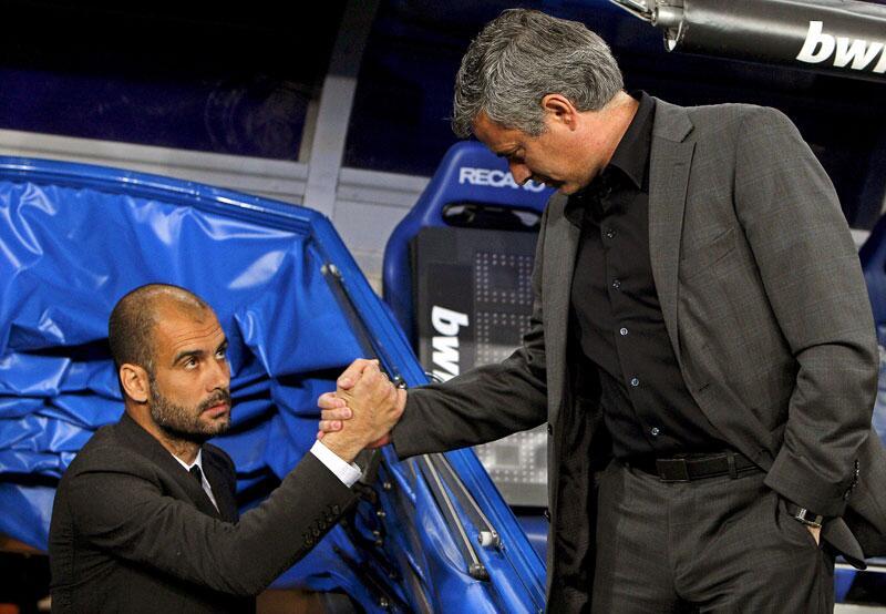 Bild zu Guardiola und Mourinho