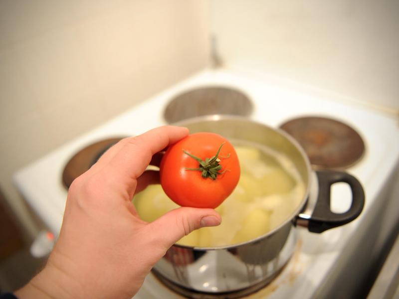 Bild zu Gekochte Tomate