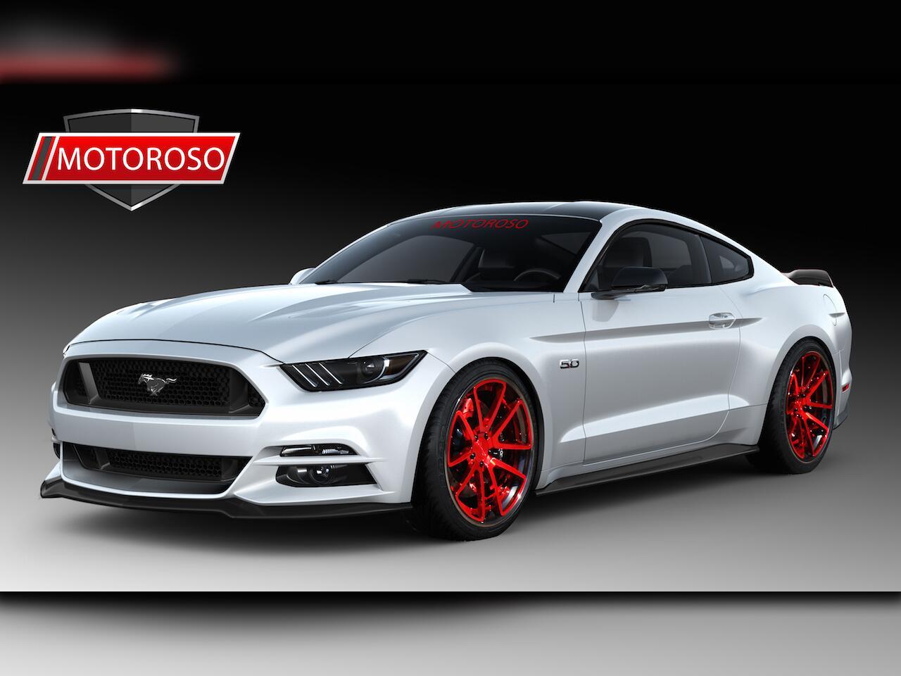 Bild zu Ford Mustang von Motoroso