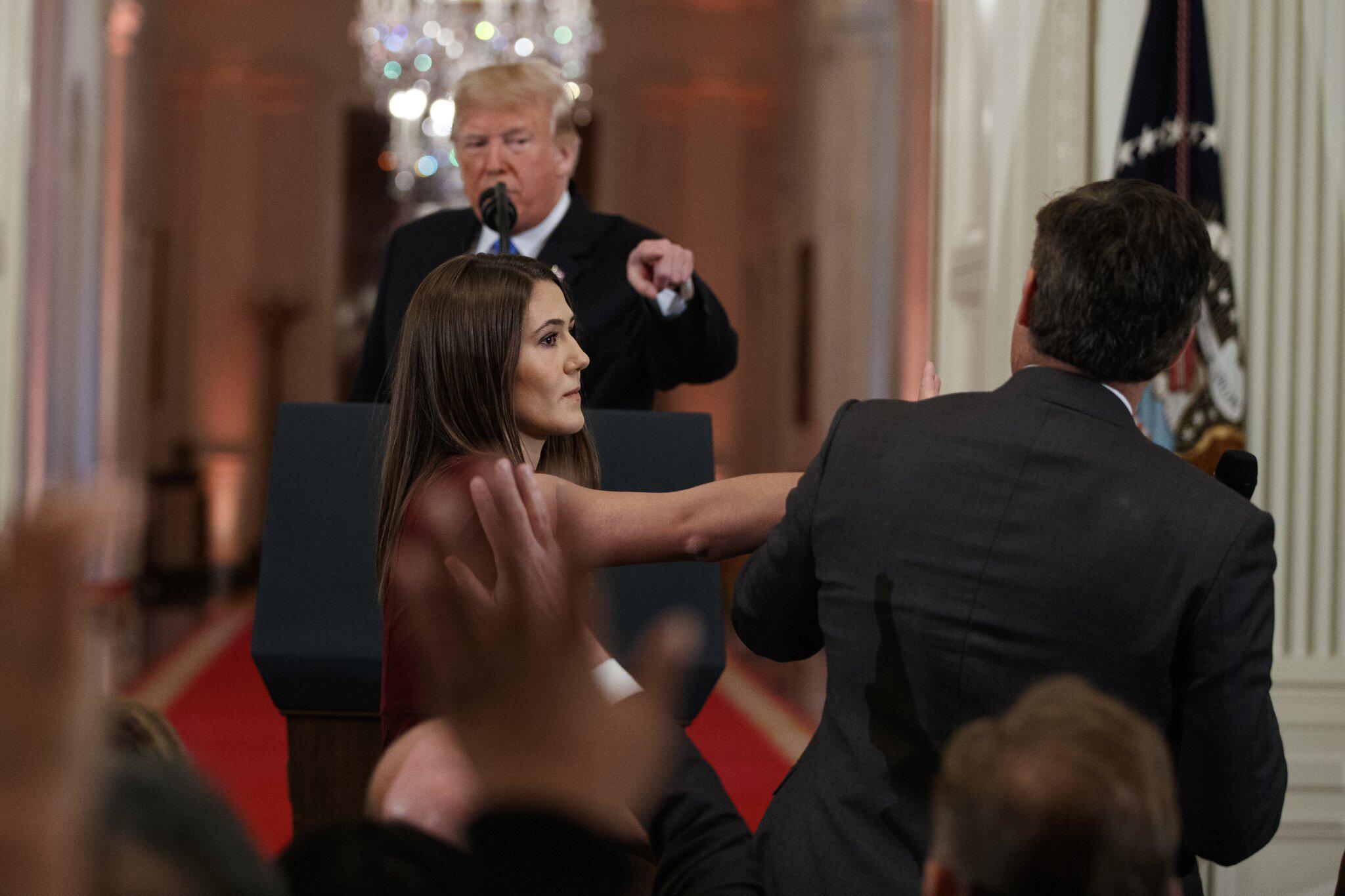 Bild zu Eklat um Pressefreiheit - Donald Trump