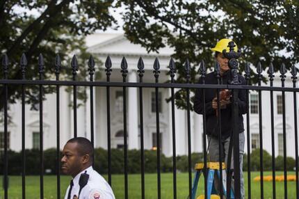 Zaun am Weißen Haus