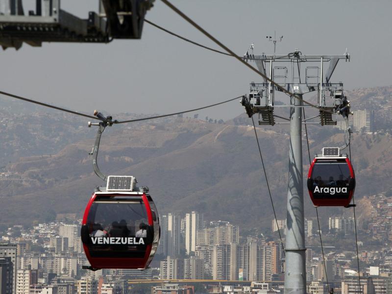 Bild zu Kabinen-Seilbahn in Caracas