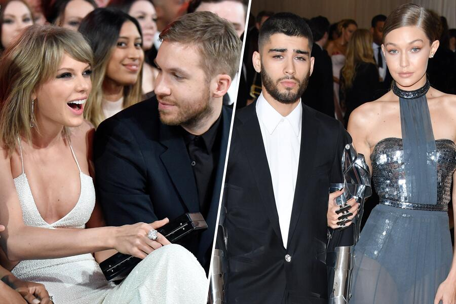 Bild zu Taylor und Calvin, Zayn und Gigi – alles Vergangenheit