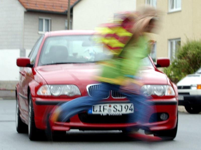 Bild zu Unfall mit Kind