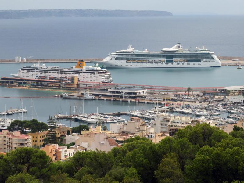 Hafen von Palma de Mallorca
