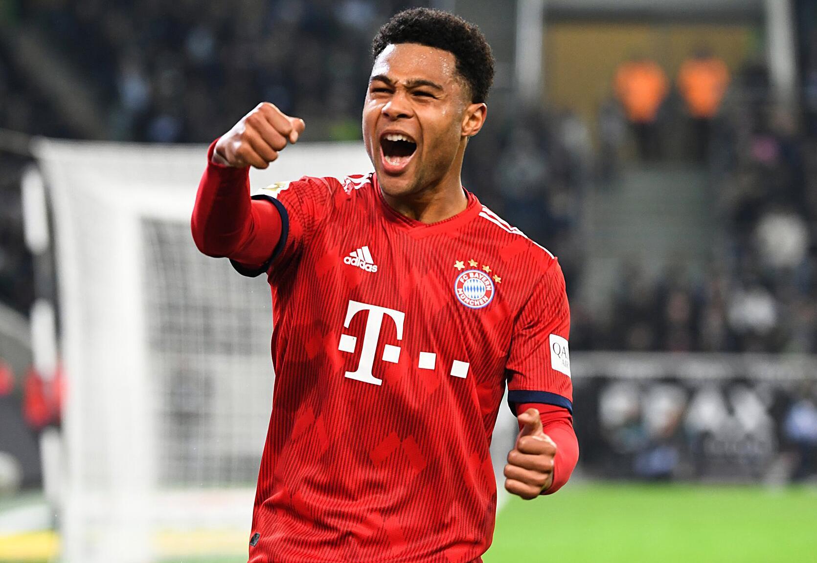 Fc Bayern Verlangert Vertrag Von Nationalspieler Gnabry Bis 2023