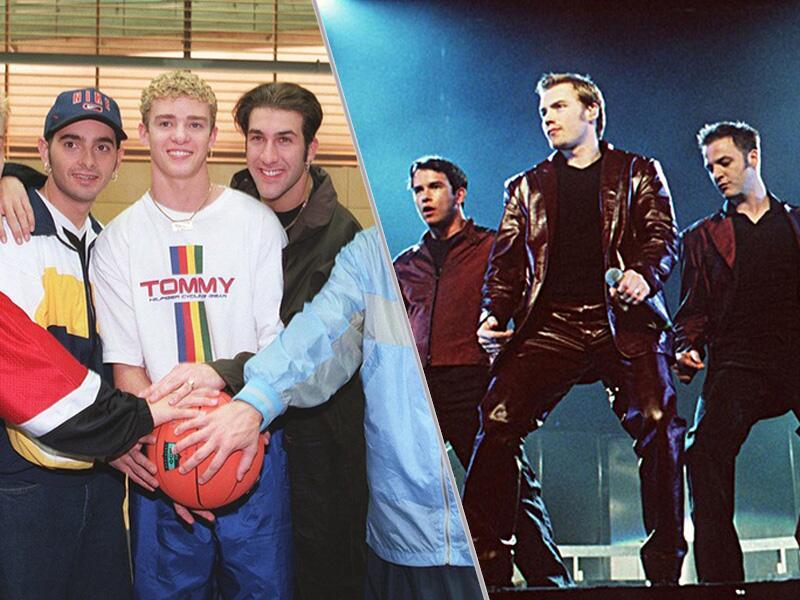 Bild zu 'N Sync und Boyzone