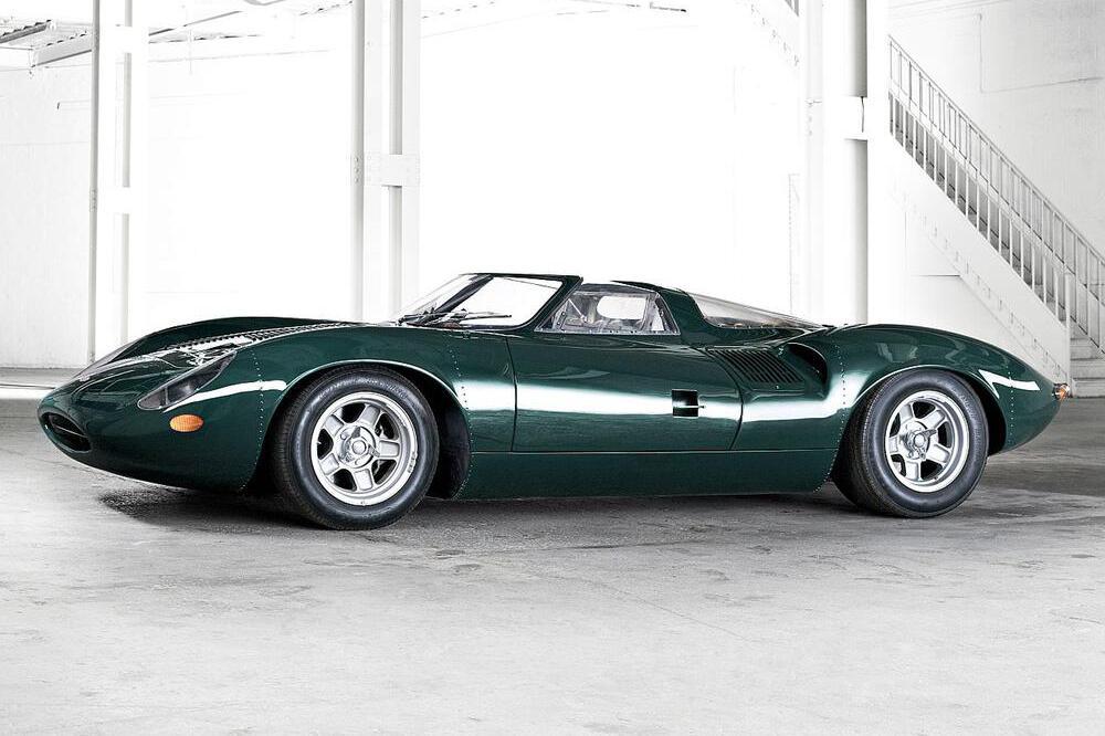 Jaguar XJ13: Historischer Rennwagen gibt nach 50 Jahren sein Le-Mans ...