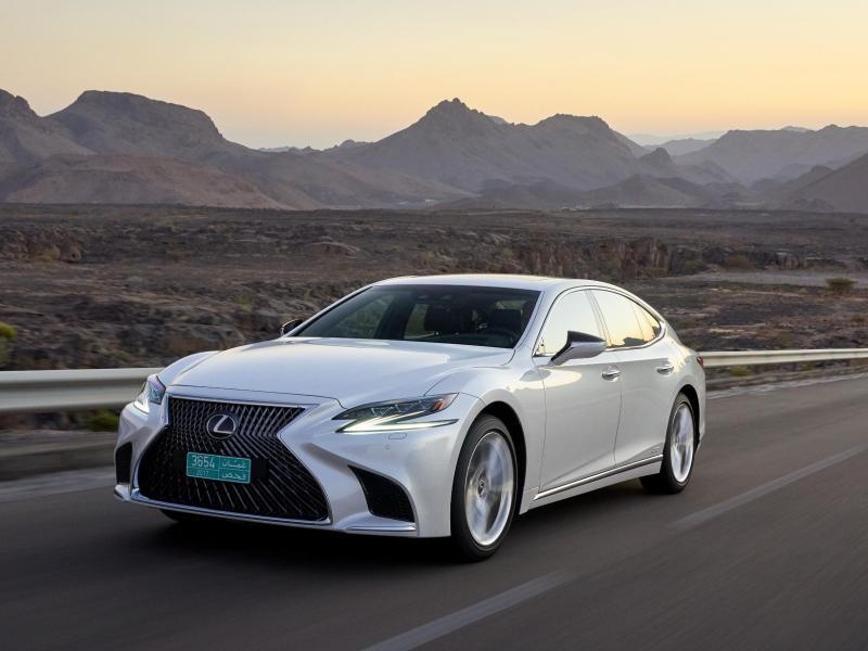 Bild zu Lexus LS500h