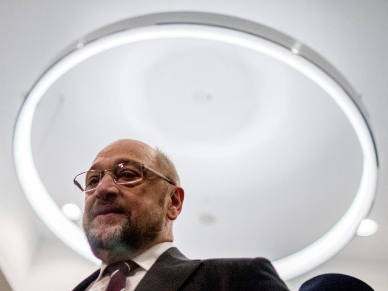 Bild zu SPD-Chef Martin Schulz